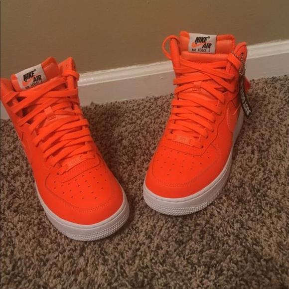 2018 Nike Force Ones Shoes Air Poshmark Orange 50Hq0